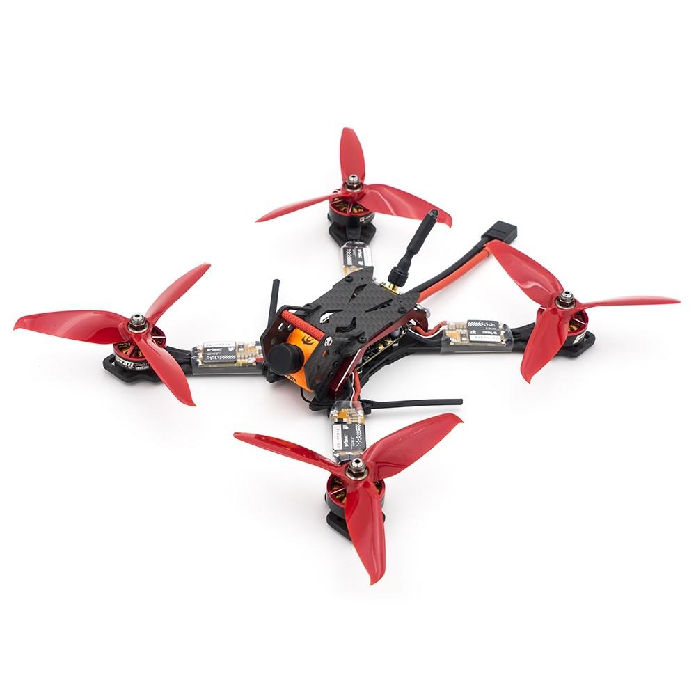 FrSky VANTAC BQ210 210mm FPV Racing Drone XSRF4PO FC Integrálja az XSR vevőegységet OSD Blheli_32 35A ESC 5.8G 48CH VTX BNF