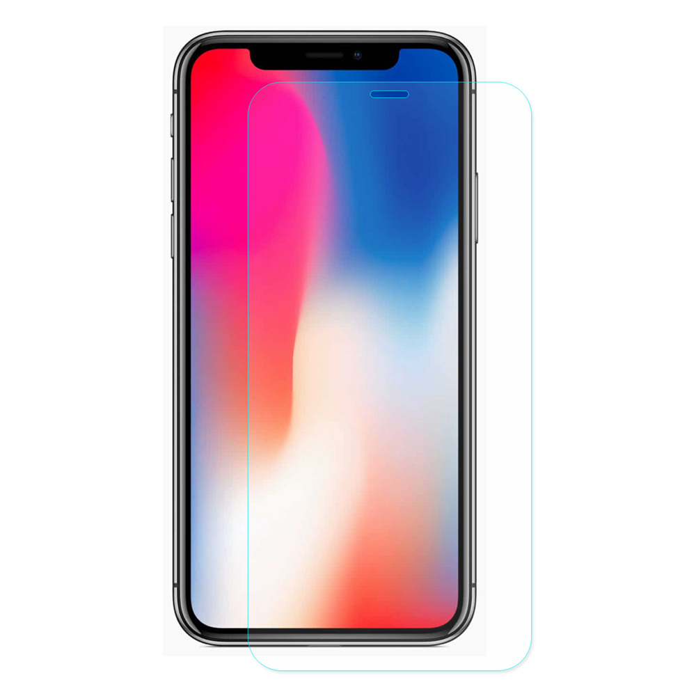 Hat-Prince Tempered Glass for iPhone XS 5.8 Inch 0.26mm 9H 2.5D Explosion-proof Membrane - Transparent фото