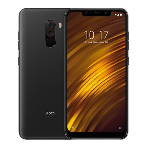 Xiaomi Pocophone F1 6.18 Inch 4G LTE Smartphone Snapdragon 845 6GB 64GB 12.0MP+5.0MP Dual Rear Cameras MIUI IR Face Unlock Type-C Fast Charge Global Version - Graphite Black