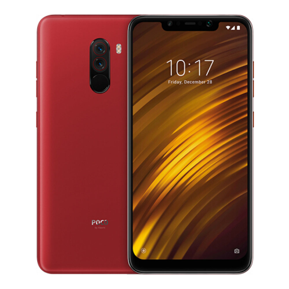 Xiaomi Pocophone F1 6.18 Inch 4G LTE Smartphone Snapdragon 845 6GB 64GB 12.0MP+5.0MP Dual Rear Cameras MIUI IR Face Unlock Type-C Fast Charge[Global Version] - Rosso Red