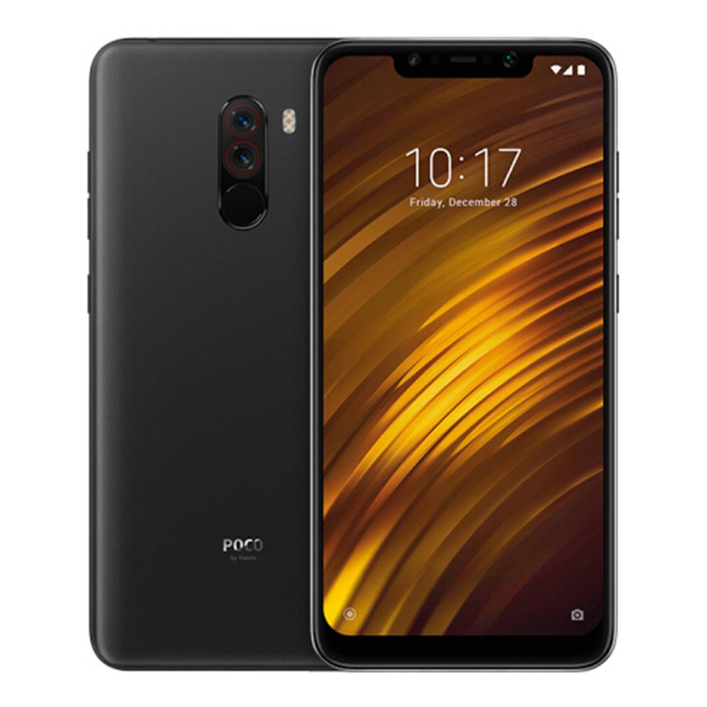 Xiaomi Pocophone F1 6.18 Inch 4G LTE Smartphone Snapdragon 845 6GB 128GB 12.0MP+5.0MP Dual Rear Cameras MIUI IR Face Unlock Type-C Fast Charge Global Version - Graphite Black