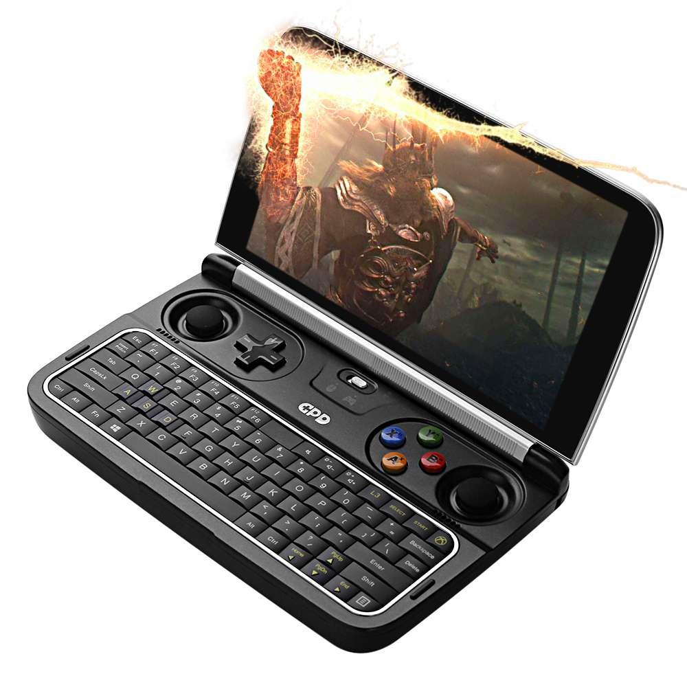 GPD WIN 2 Gamepad Tablet PC Intel Core m3-7Y30 Quad Core 6.0 Inch 1280*720 Windows 10 8GB RAM 256GB ROM SSD - Black