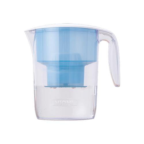 [Reguläre Version] Xiaomi Viomi L1 Wasserfilterkrug 3.5L Antibakterieller 7-Stufenfilter-Handfiltrationskessel [Internationale Version] - Transparent