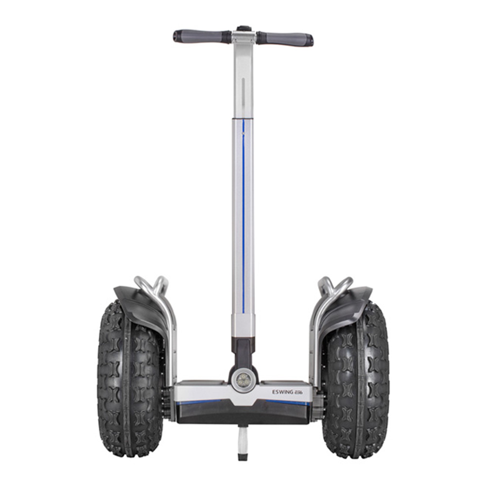 ESWING ES6+ City Electric Two-wheel Self Balancing Scooter Off Road Type 19 Inch Tire Buit-in GPS With Bluetooth APP Control - Black фото