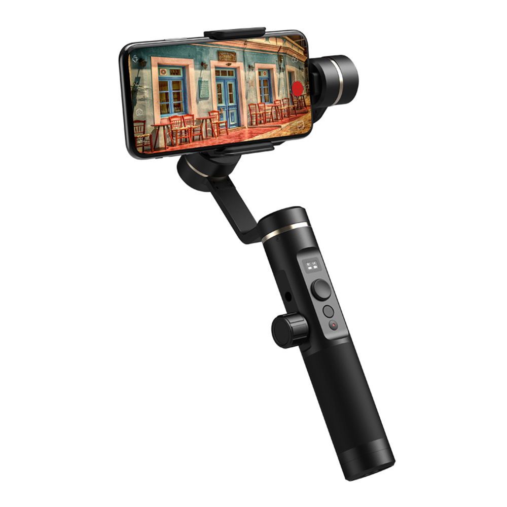 Feiyu Tech SPG2 3-Axis Anti-splash Brushless Handheld Gimbal Stabilizer with OLED Display for Smartphone