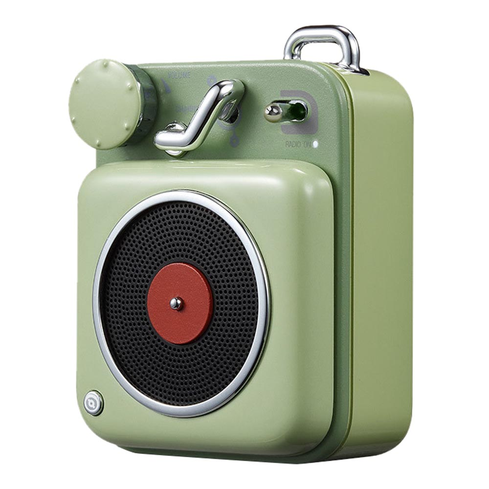 Xiaomi Elvis Presley Atomic Cat Rei Jogador B612 Retro Compacto Bluetooth Smart Audio Portable Speaker - Verde