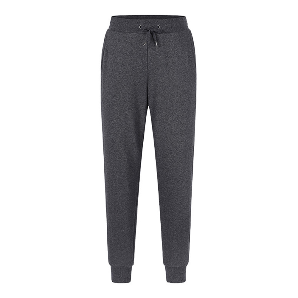 Xiaomi ULEEMARK Men Cotton Sport Pants Casual High Elasticity Knit Trousers Size L - Dark Gray