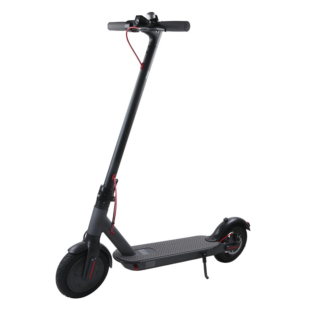 HR-15 zwei Räder, die elektrisches Roller-Schwarzes falten