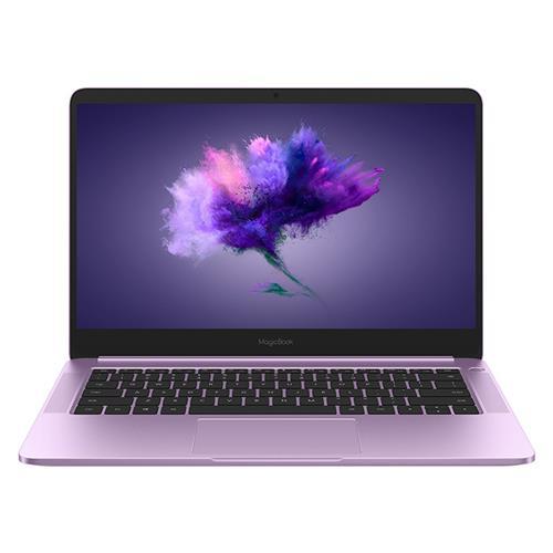 "HUAWEI Honor Magicbook laptop Intel Core i5-8250U négymagos GeForce MX150 2 GB DDR5 14 ""IPS 10 pontos érintőképernyő 1920 * 1080 8 GB RAM 256 GB SSD - lila"