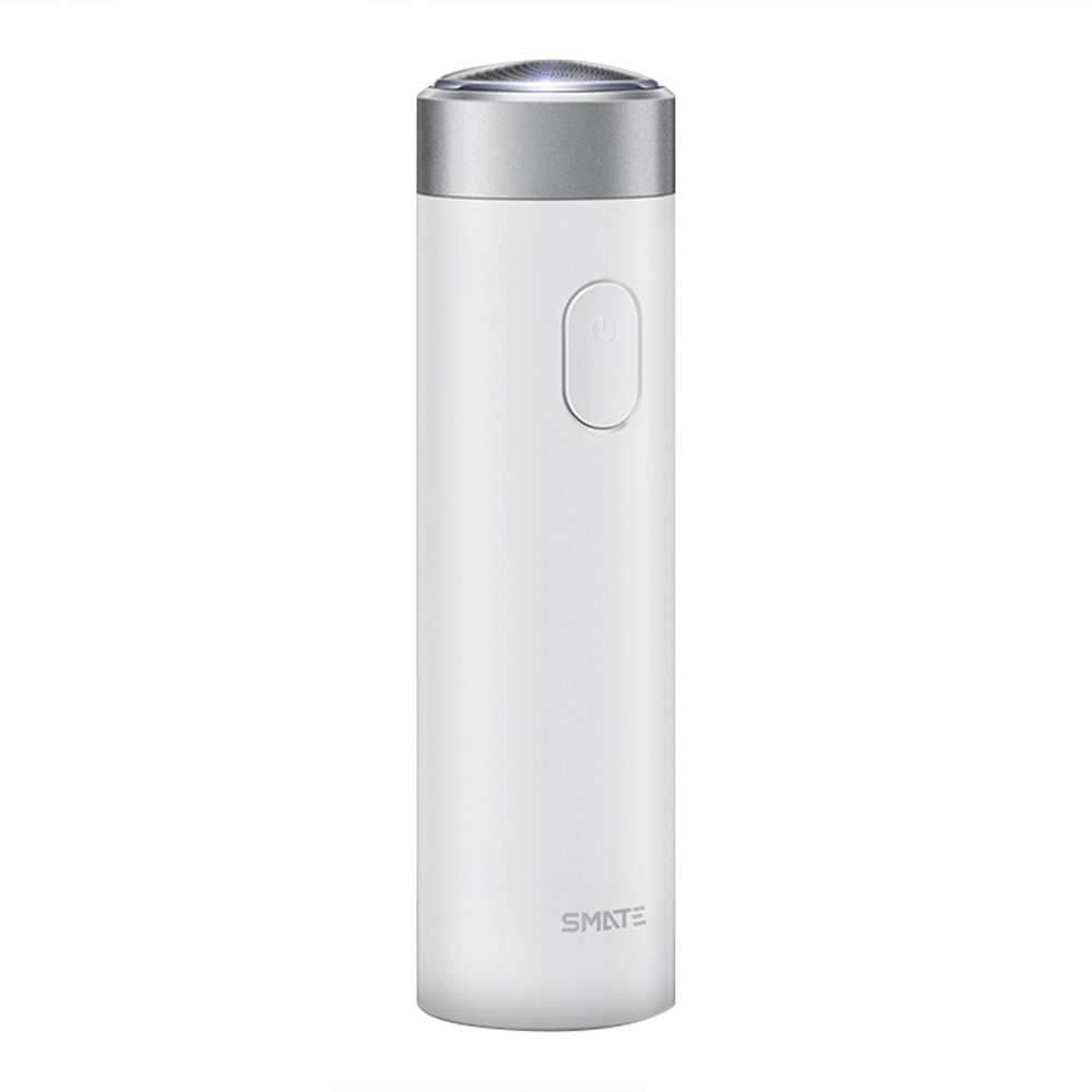 Xiaomi SMATE ST-R101 Turbine Electric Shaver Three Blades IPX7 Water Resistant USB Charging 4500 rpm High-Speed Motor - White