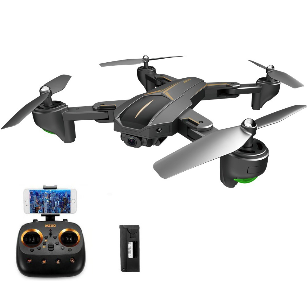 VISUO XS812 GPS 5G WiFi 5MP FPV RC Quadcopter Foldable with 5MP HD Camera 15mins Flight Time RTF - Two Batteries