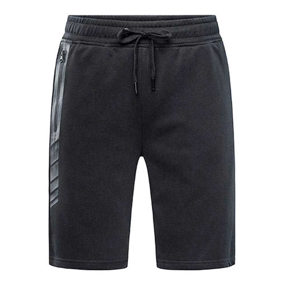 Xiaomi Uleemark Men Workout Sport Shorts Alta elasticità Tessuto resistente YKK Cerniera taglia L - Nero