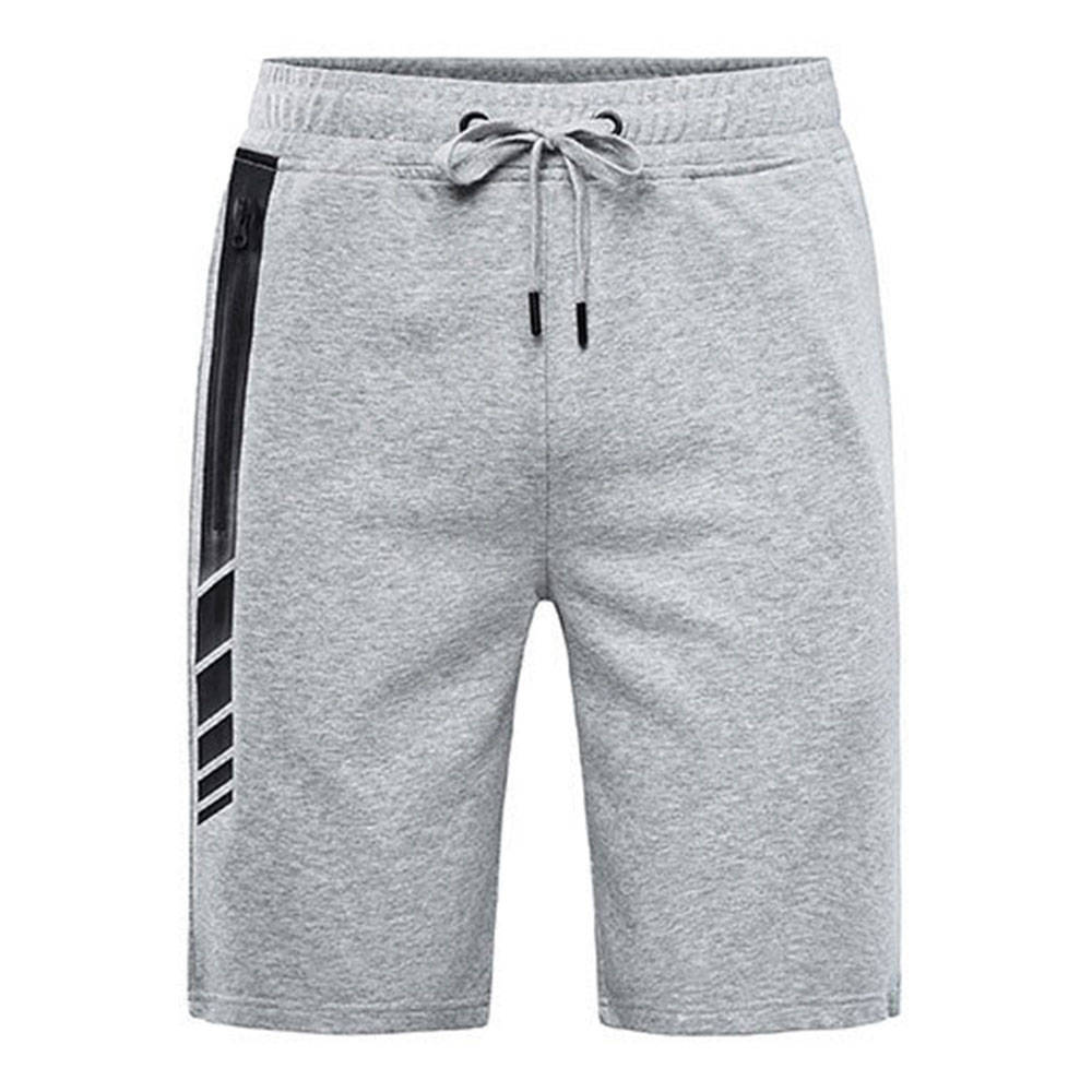 Xiaomi Uleemark Men Workout Sport Shorts High Elasticity Tough Fabric YKK Zipper Size 2XL - Gray