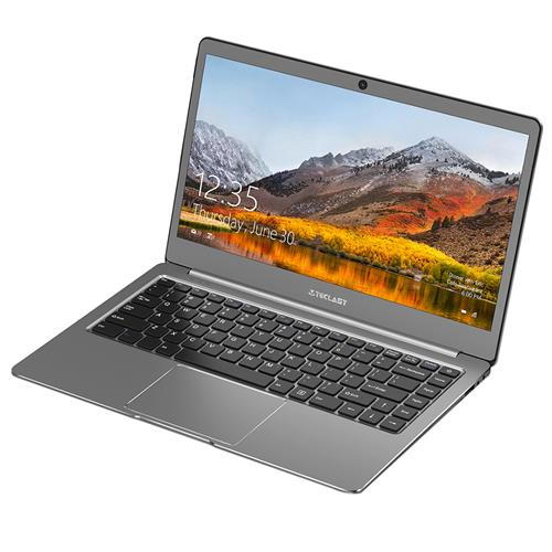 Teclast F6 Laptop Intel Apollo Lake N3450 Quad Core 13.3 Inch 1920*1080 6GB RAM 128GB SSD Windows 10 - Gray