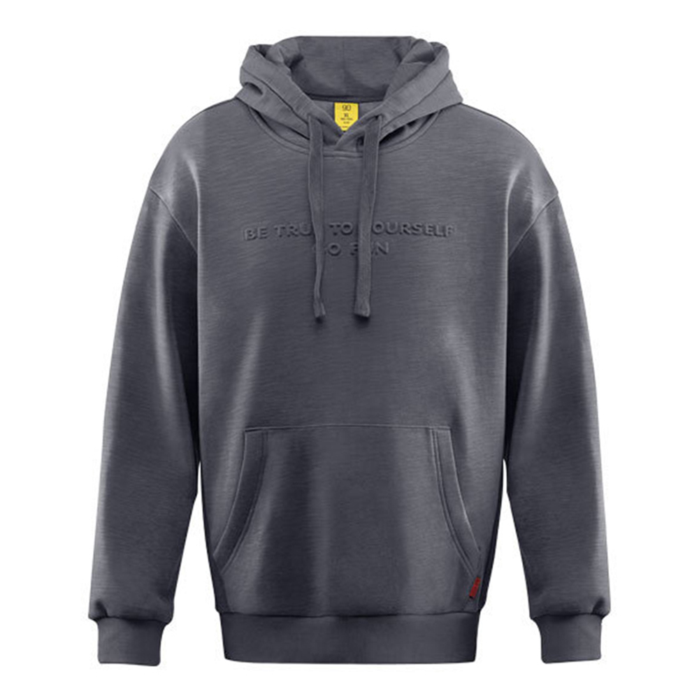 Xiaomi 90FUN Unisex Oversized Style Hoodie Double-layer Composite Fabric Sweatshirt Size L - Dark Gray