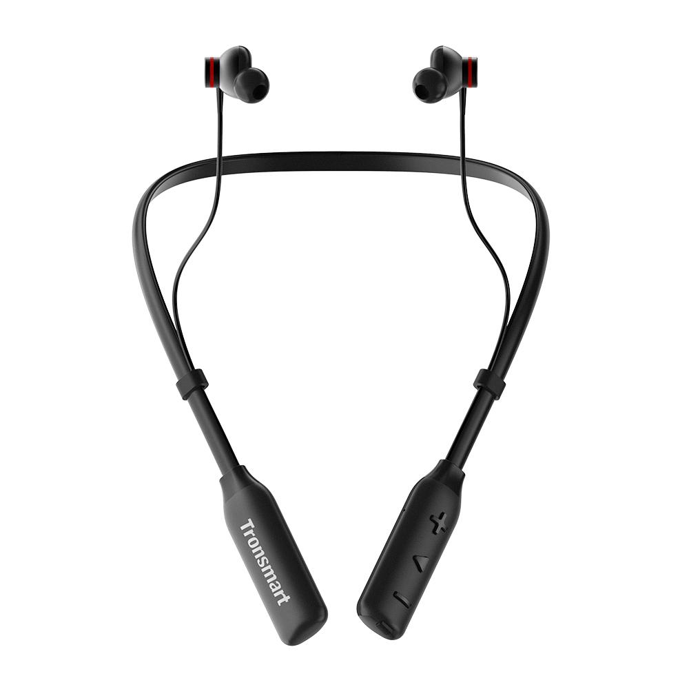 Tronsmart Encore S2 Plus Bluetooth 5.0 Qualcommヘッドフォン24H iOS / Android用プレイタイム音声コントロールマイク
