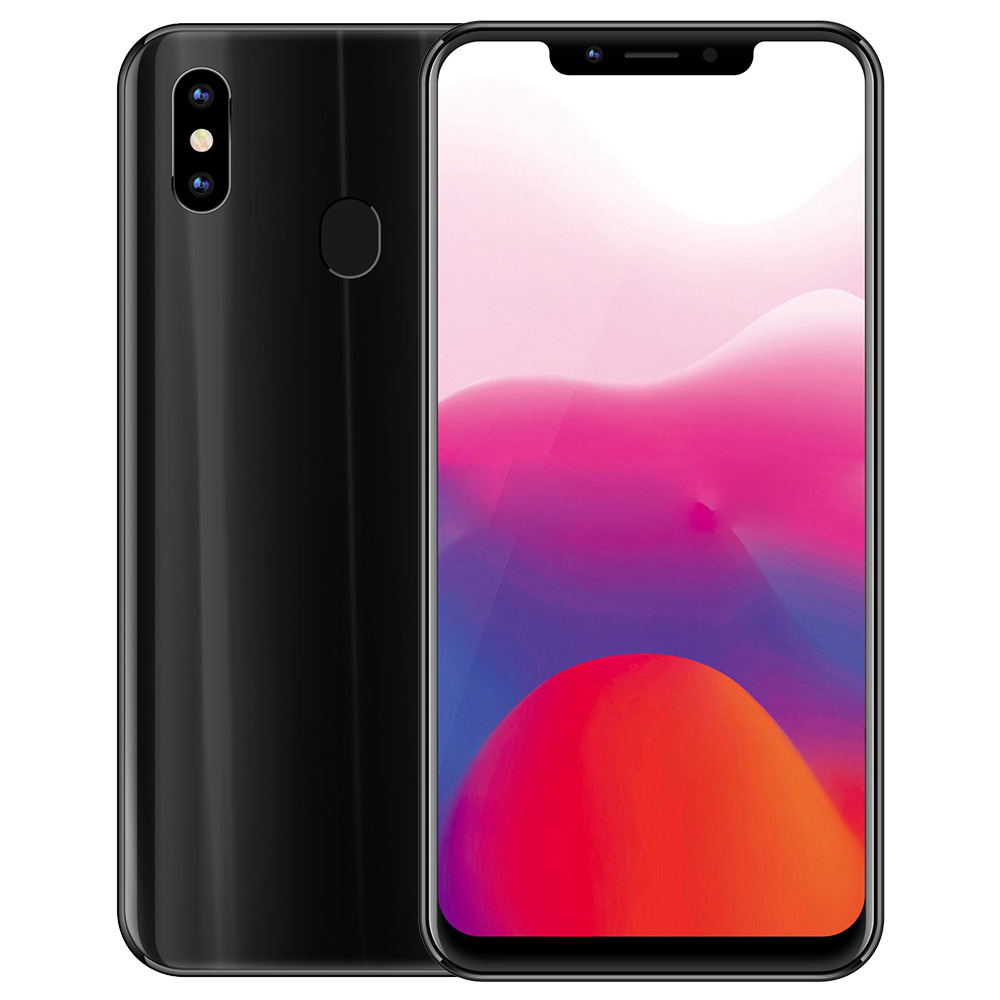 Meiigoo S9 6.18 Inch 4G LTE Smartphone MTK6750T 4GB 32GB 13.0MP + 2.0MP Dual Rear Cameras Android 8.1 Face ID Type-C Fast Charge - Diamond Black