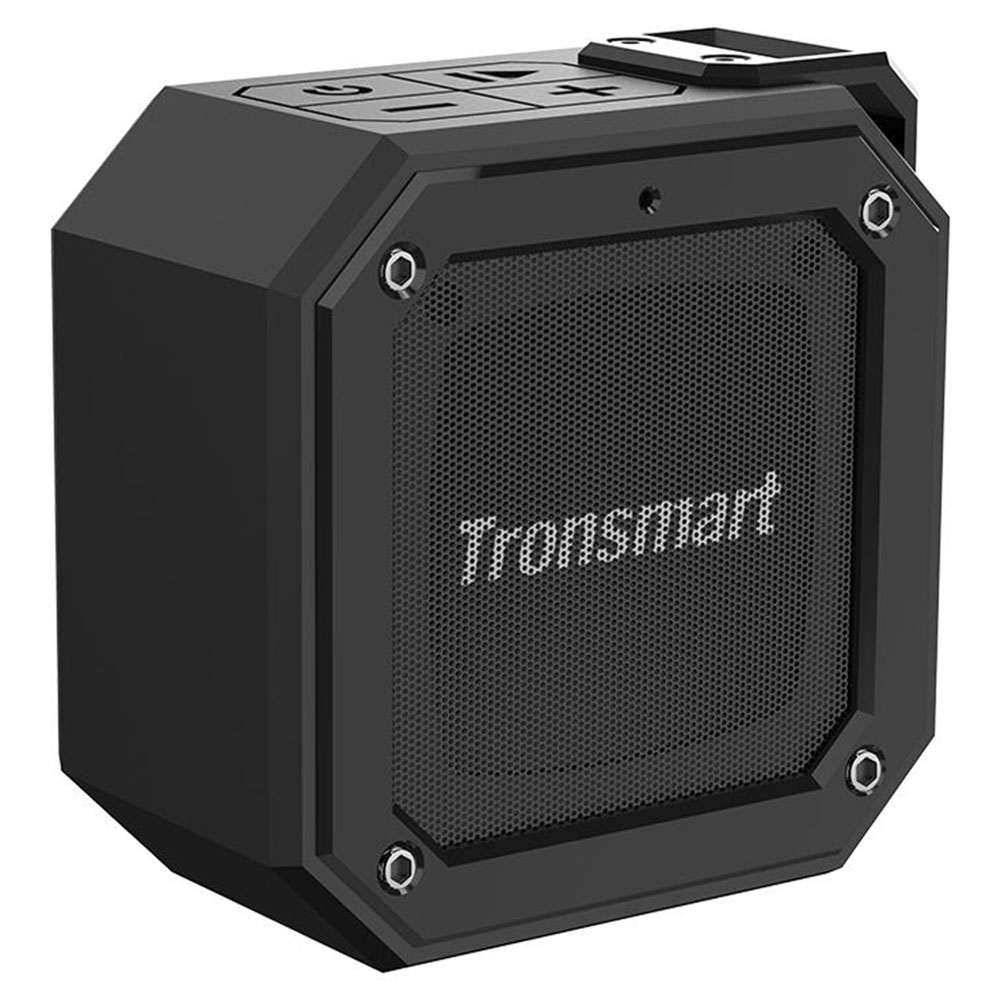 Tronsmart Element Groove(Force Mini) Portable Bluetooth 5.0 Speaker Voice Assistant IPX7 Water-resistant 24 Hours Playtime  Superior Bass - Black