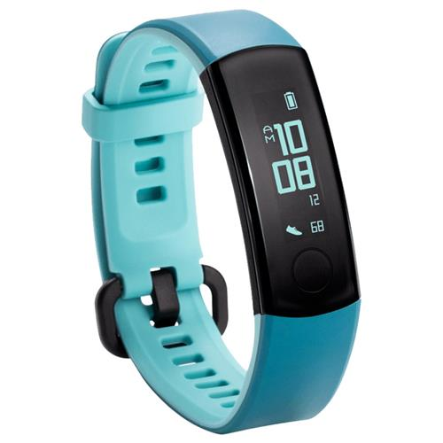 "Huawei Honor Band 3 Smart Wristband 0.91"" PMOLED Screen Heart Rate Monitor Push Message Compatible with iOS Android - Blue"