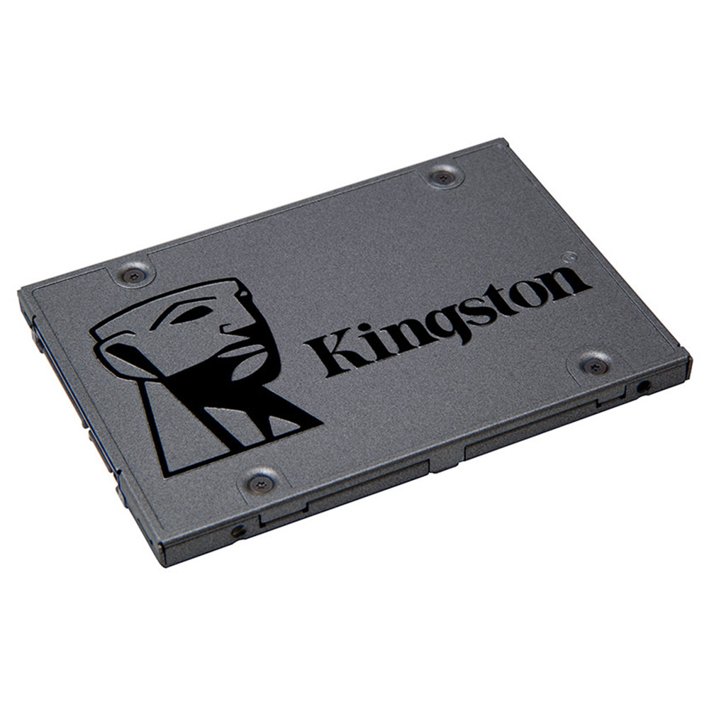 Kingston A400 SSD 480GB SATA 3 2.5 Inch Solid State Drive SA400S37 / 120G voor desktops en notebooks - donkergrijs