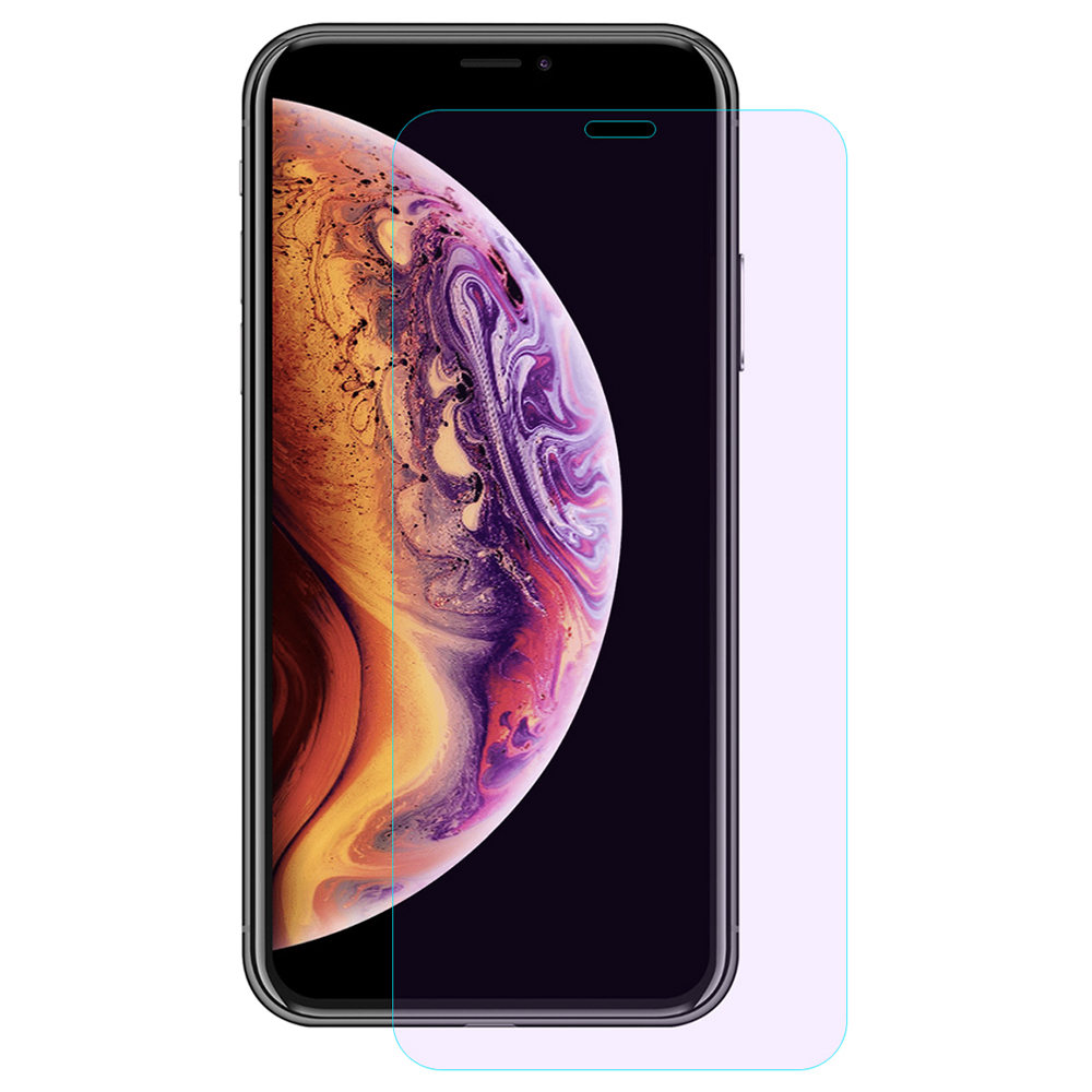 Hat-Prince Tempered Glass Film for iPhone XS/X 0.26mm 2.5D Explosion-proof Membrane - Transparent