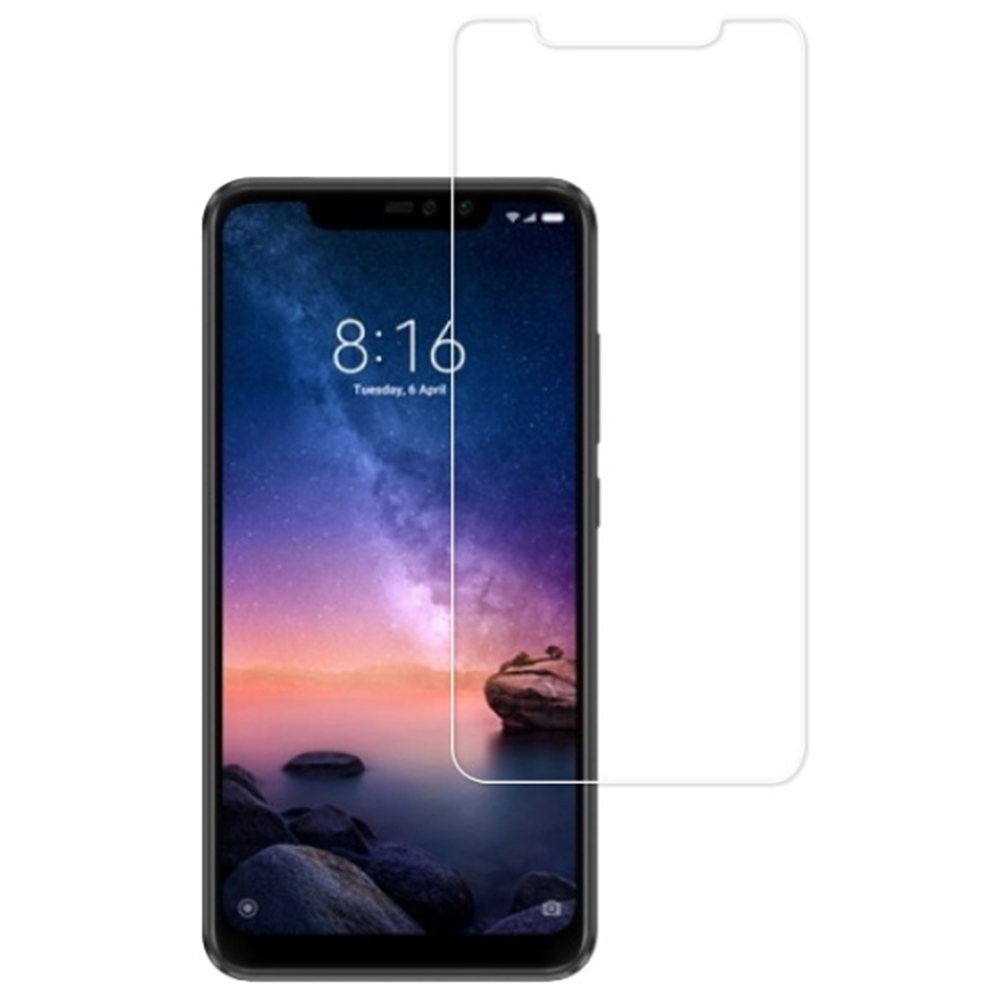 Tempered Glass Film for Xiaomi Redmi Note 6 Pro 0.33mm 2.5D Explosion-proof Membrane - Transparent
