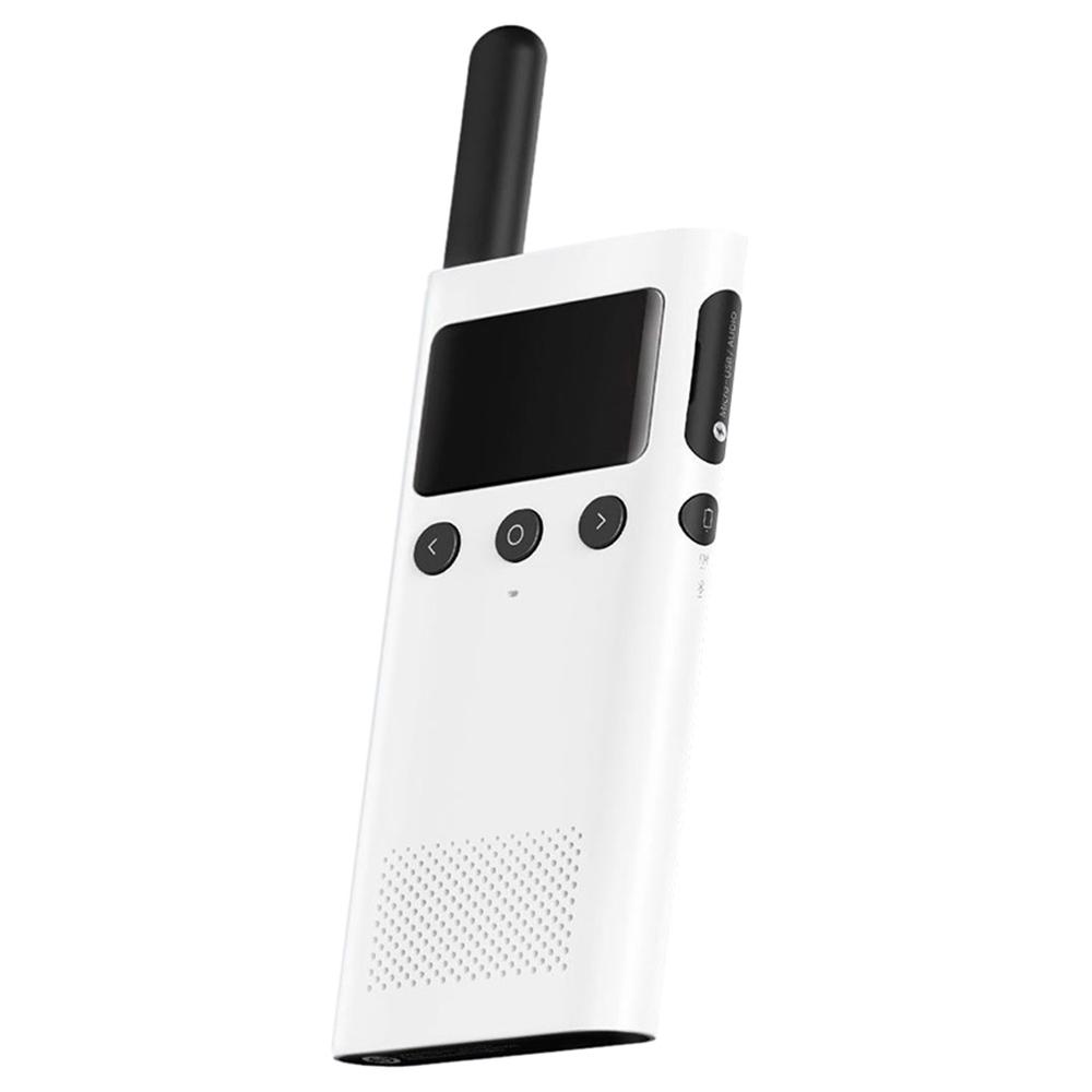 Xiaomi 1S Наружная Walkie Talkie Расположение Sharing Mobile Phone Writing Frequency FM-радио - белый