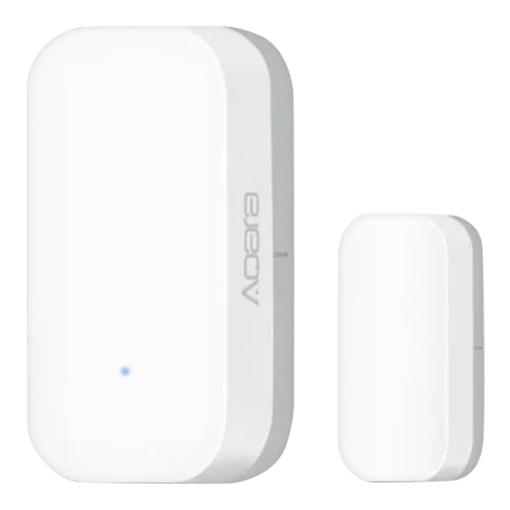 Xiaomi Aqara Intelligenter Fenstertürsensor Home Security-Ausstattung Funktioniert mit Apple Homekit und Aqara Gateway - White