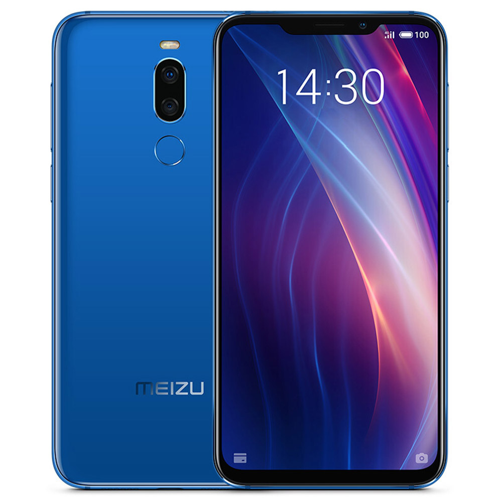 Meizu X8 6.2 Inch 4G LTE Smartphone Snapdragon 710 4GB 64GB 12.0MP+5.0MP Dual Rear Cameras Android 8.1 Face ID Full Screen - Magic Blue