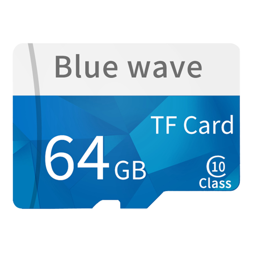 TF4114 64GB MicroSD Card TF Card Neutral Ultra High Speed Class 1 - Blue