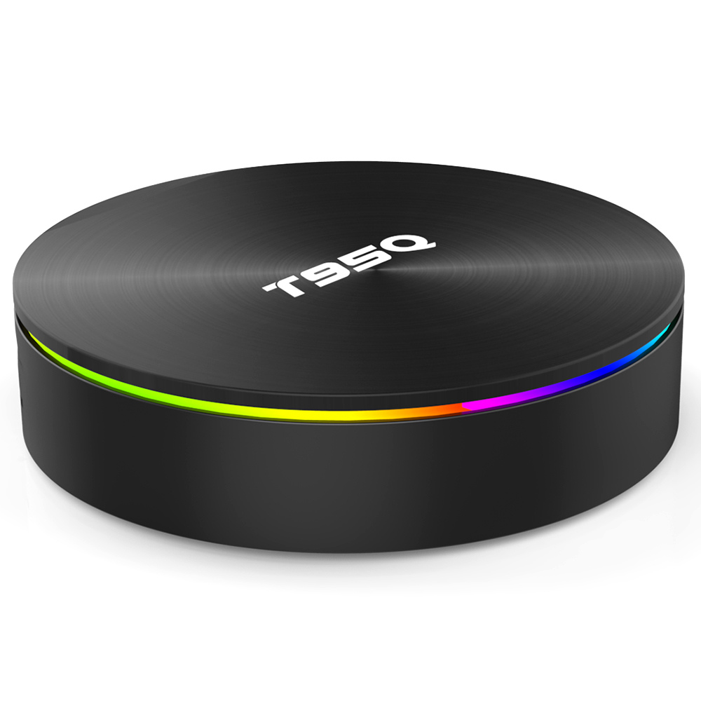 T95Q Amlogic S905X2 Android 8.1 4GB DDR4 64GB eMMC 4K TV Box KODI 17.6 Dual Band WiFi LAN Bluetooth USB3.0