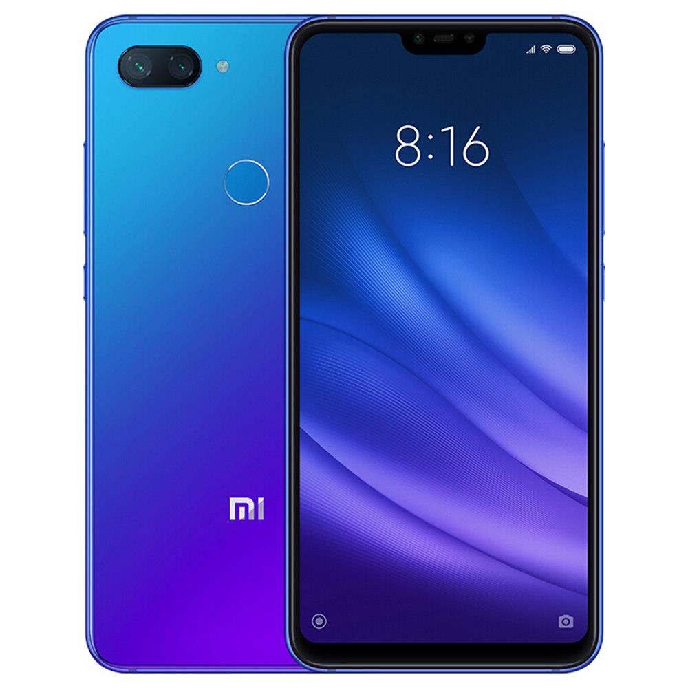 Xiaomi Mi 8 Lite 6.26 Inch 4G LTE Smartphone Snapdragon 660 6GB 128GB 12.0MP+5.0MP Dual Rear Cameras MIUI 9 Touch ID Type-C Fast Charge Global Version - Dream Blue