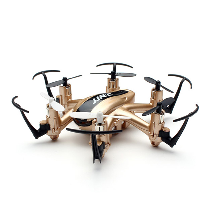 JJRC H20ナノヘキサコプターRTF 2.4G 4CH 6軸ヘッドレスモード3Dタンブリングを返す1つのキー - ゴールド