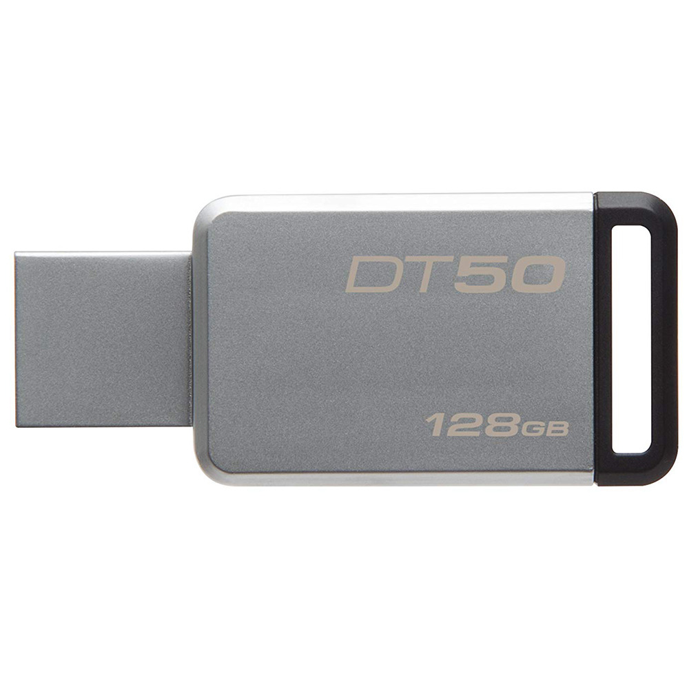 Kingston DT50 128GB USB Flash Drive Data Traveler USB 3.0 Interface 110MB/s Read Speed - Random Color