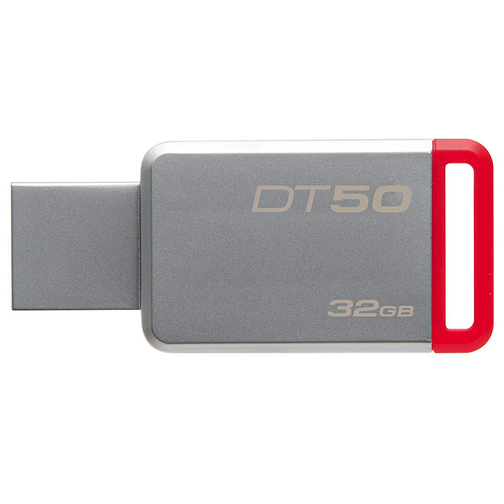 Kingston DT50 32GB USB Flash Drive Data Traveler USB 3.0 Interface 110MB/s Read Speed - Random Color
