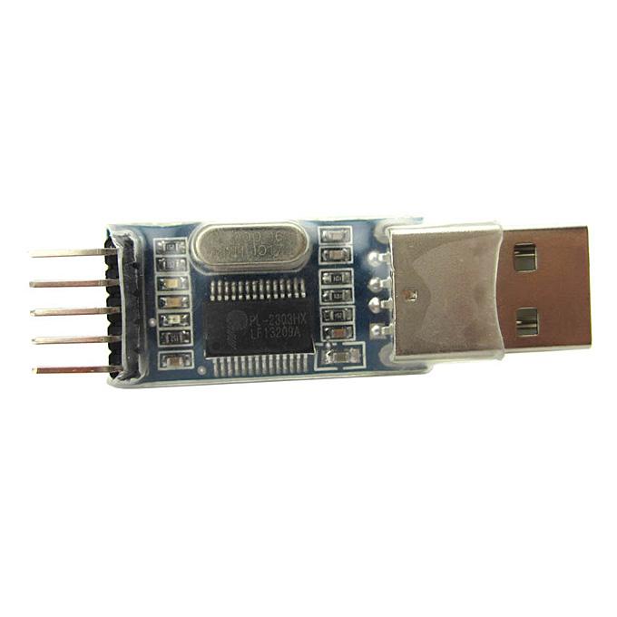 RS232 USB to TTL PL2303HX Arduino用オートコンバーターアダプターコントローラーモジュール