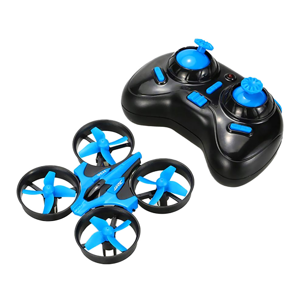 JJRC H36  2.4G 4CH 6Axis Gyro Headless Mode RC Quadcopter RTF - Blue