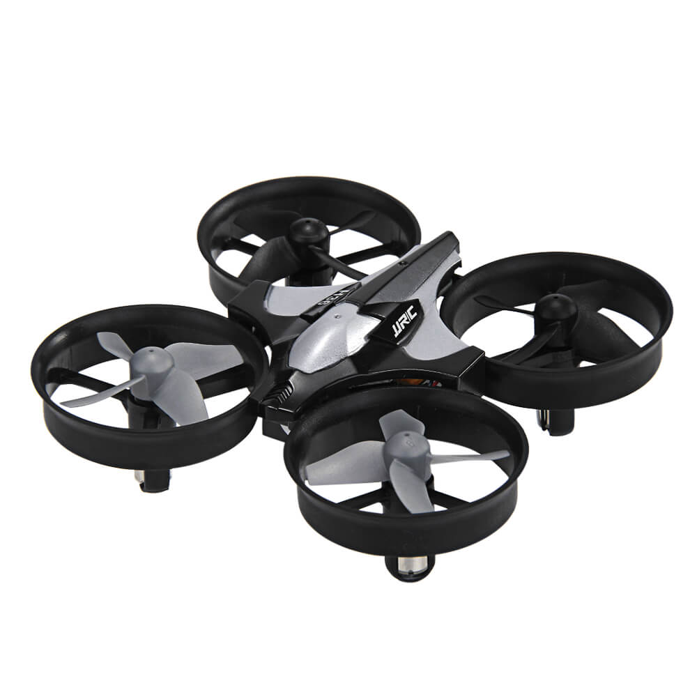 JJRC H36  2.4G 4CH 6Axis Gyro Headless Mode RC Quadcopter RTF - Dark Gray