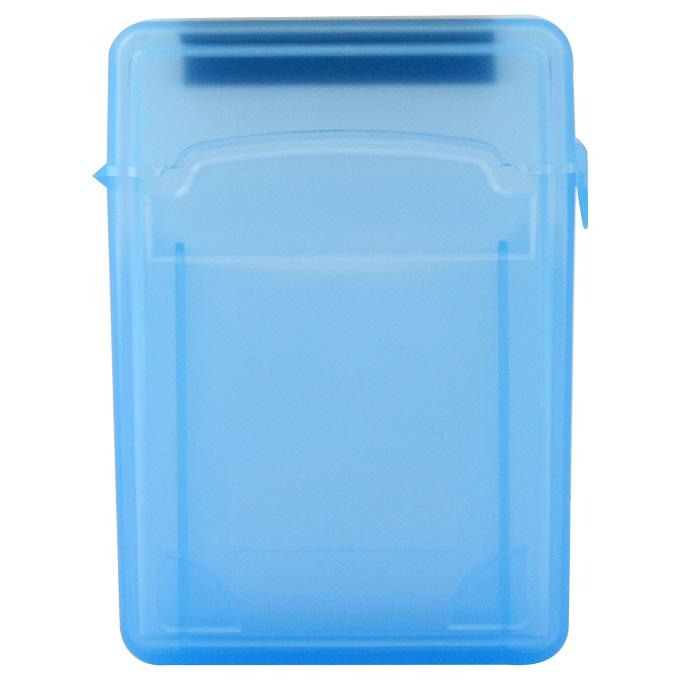 Yeni PVC Plastik Çift 2.5 'Sabit Disk Kutusu - Mavi