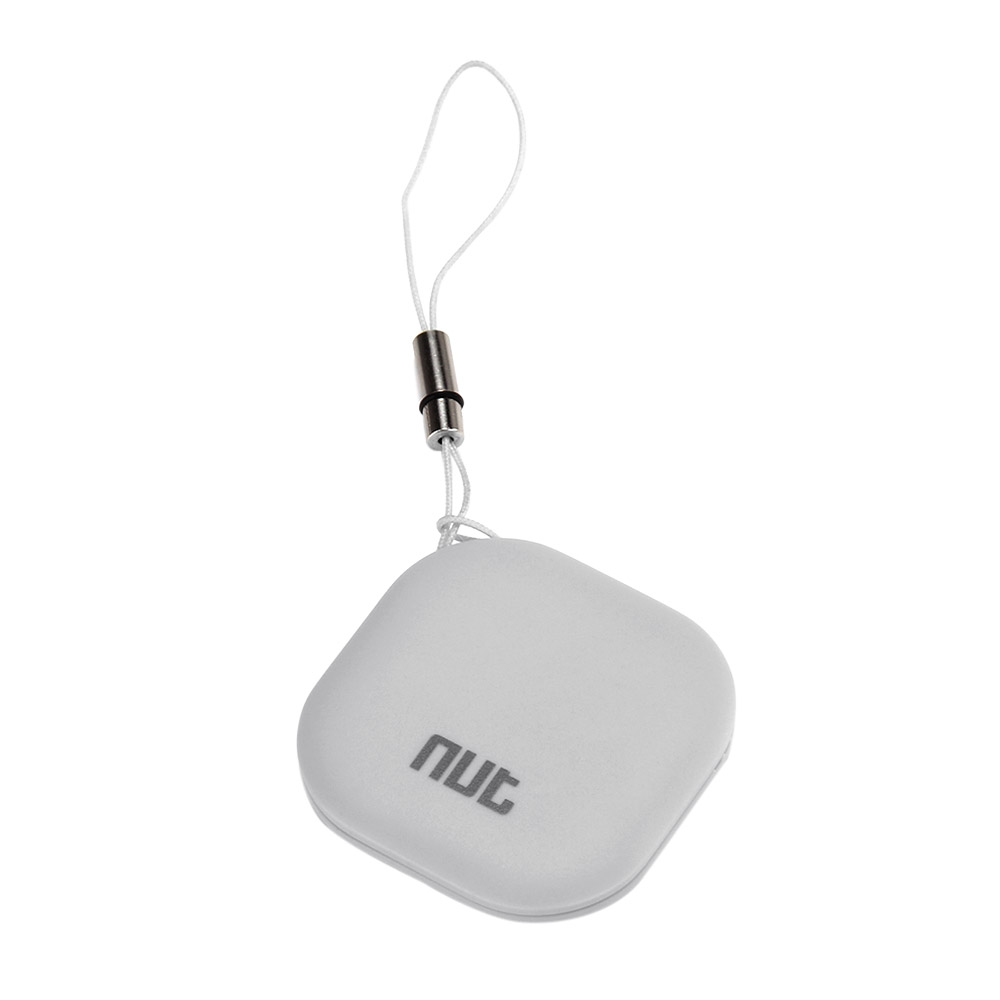 Nut3 Multifunctional Smart Finder WiFi Bluetooth Tracker Locator Wallet Phone Key Anti-lost Alarm - Gray
