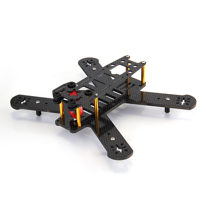 Puffin 210mm Wheelbase All Carbon Fiber Quadcopter Frame Kit фото