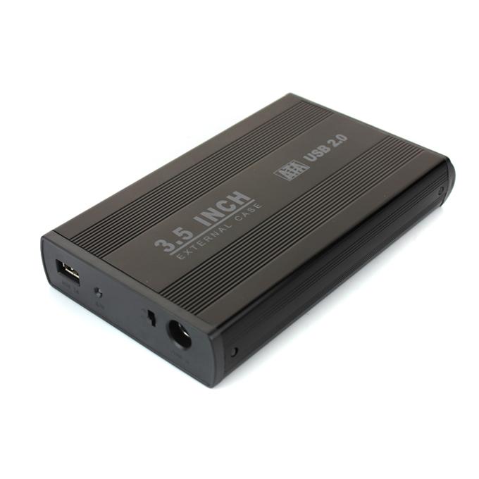 Υποδοχή περιβλήματος USB 2.0 για SATA 3.5 - μαύρο
