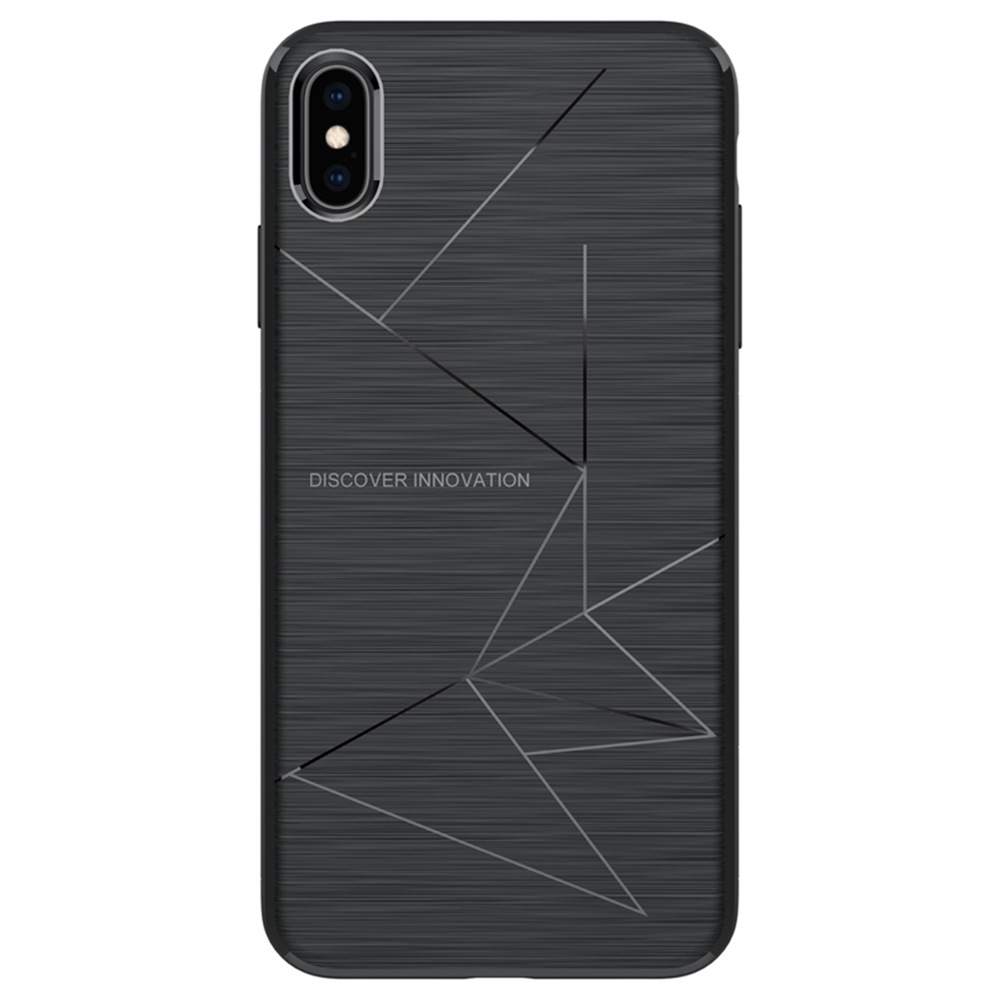 NILLKIN Rugged Protective Phone Case für iPhone XS Max 6.5 Zoll - Schwarz
