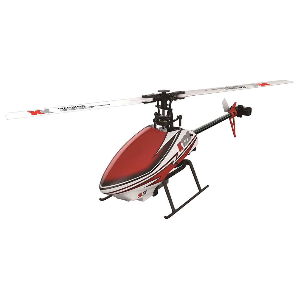 XK K120 Shuttle 6CH RC Helicopter bezszczotkowy 3D 6G System Inverted Flight Copter RTF