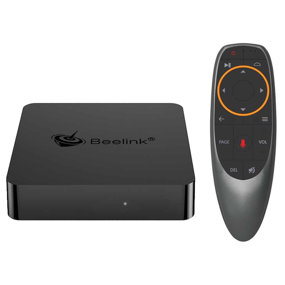 Beelink GT1 MINI Amlogic S905X2 Android 8.1 2GB DDR4 32GB eMMC 4K TV Box with Voice Remote Dual Band WiFi Gigabit LAN Bluetooth USB3.0
