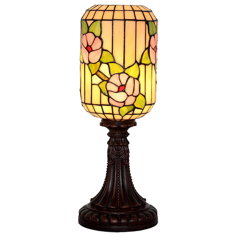 Chinese Style Retro Red Plum Table Lamp