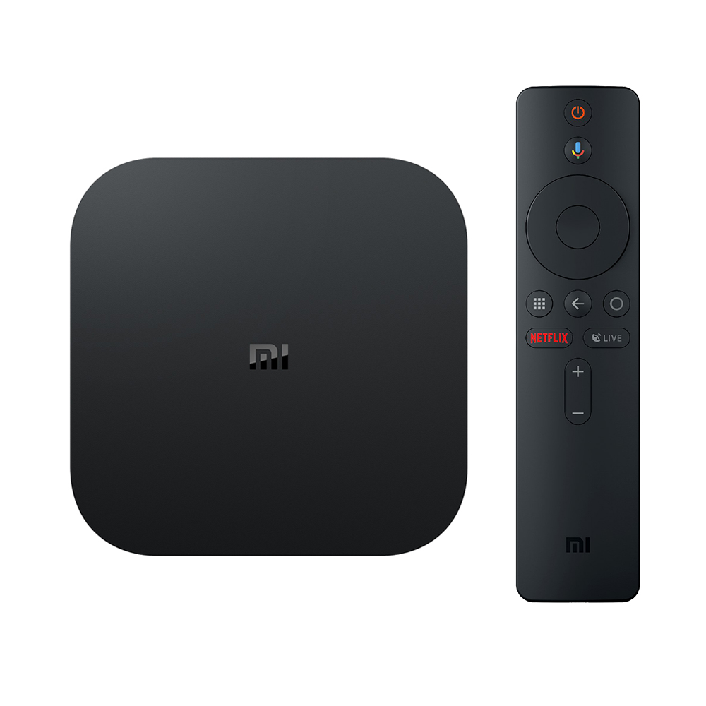 XIAOMI Mi Box S Android 8.1 Netflix 4K 2GB/8GB 4K TV Box with Voice Remote Dolby DTS Google Assistant Chromecast AC WiFi Bluetooth - International Version