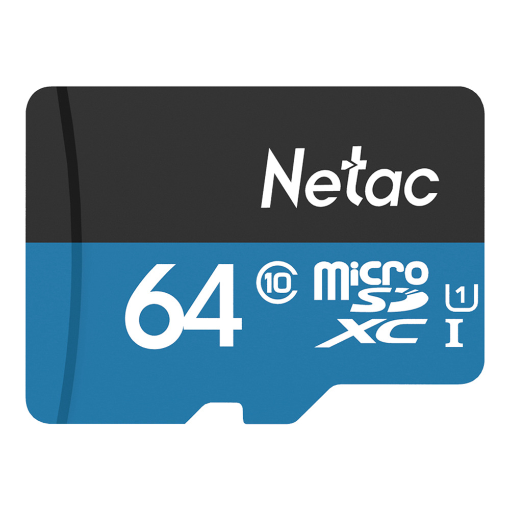Almacenamiento de datos de la tarjeta micro SD P500 64GB de Netac hasta 80MB / S