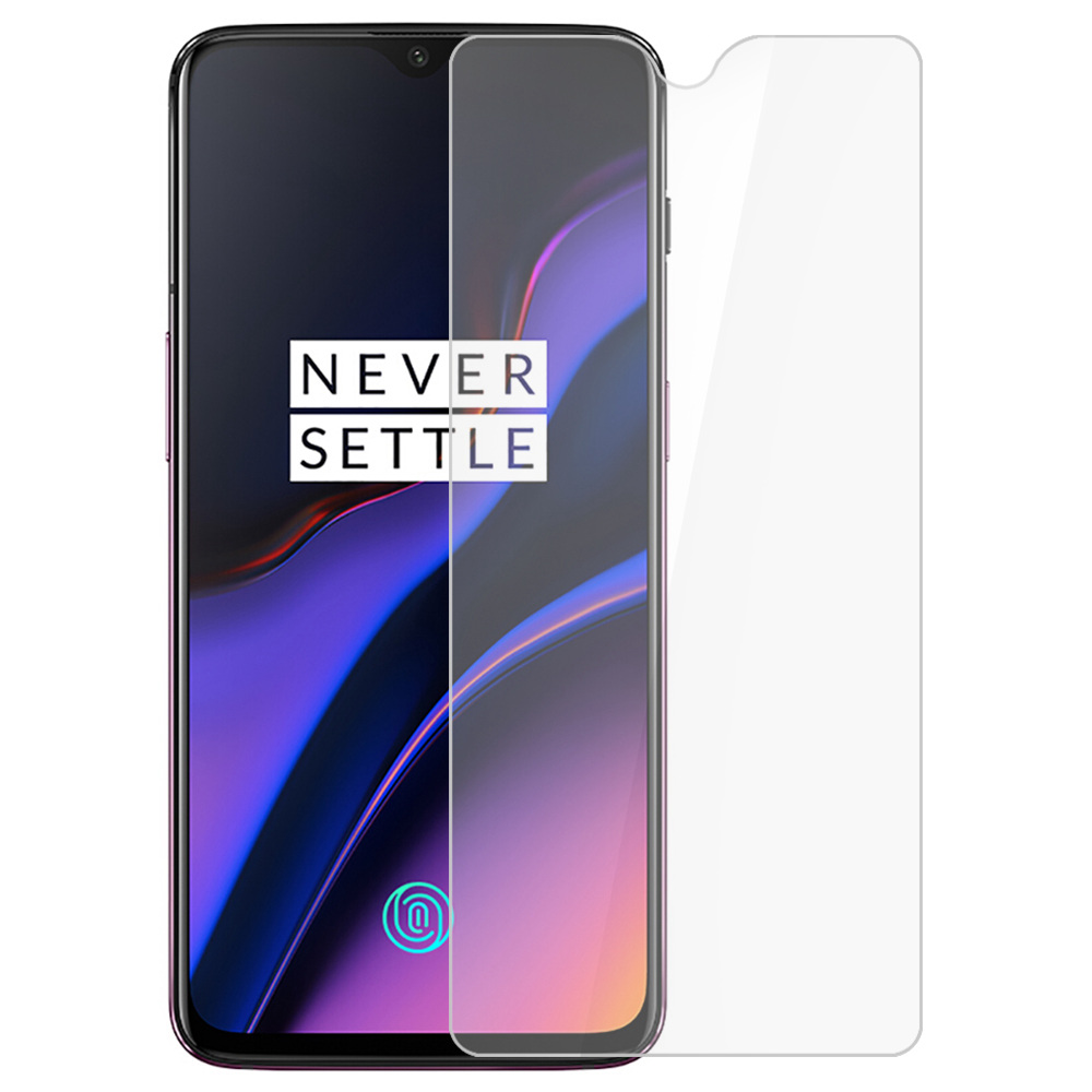 Tempered Glass Film for Oneplus 6T 3 0.33mm 2.5D Explosion-proof Membrane - Transparent фото