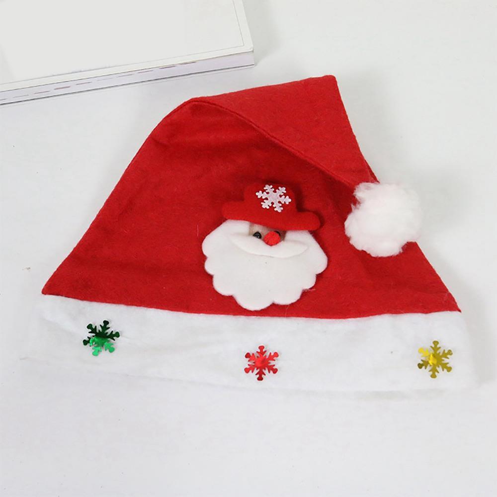 Christmas Hats for Children's Headdresses Decoration - Babbo Natale